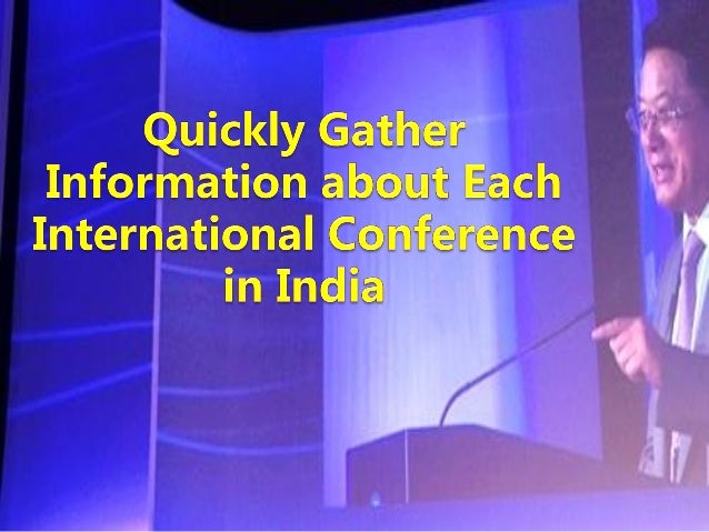 Quickly Gather Information About Each International