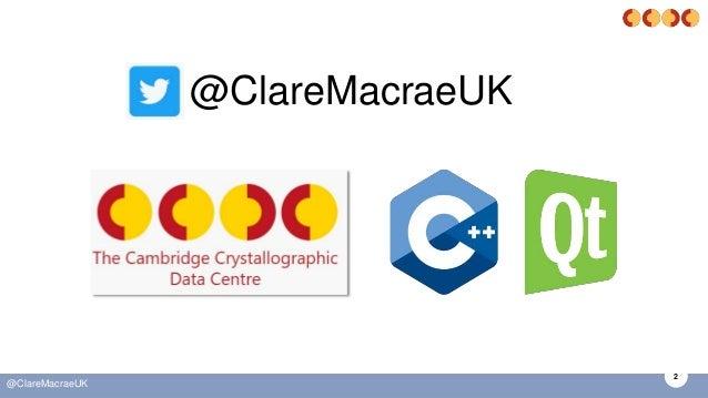 2 @ClareMacraeUK @ClareMacraeUK