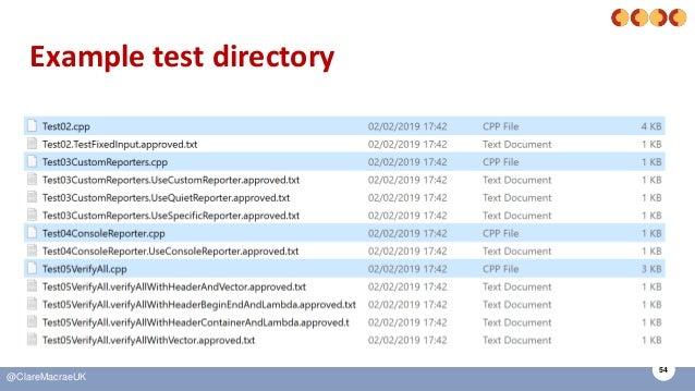 54 @ClareMacraeUK Example test directory