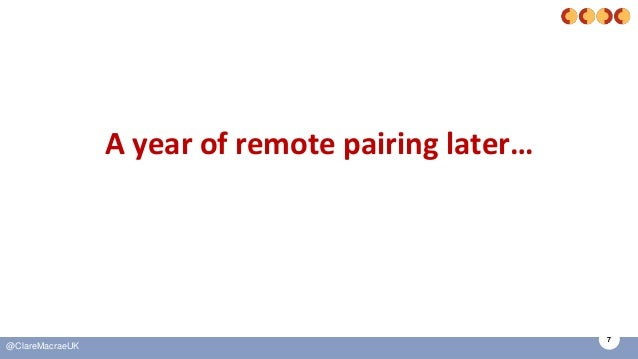 7 @ClareMacraeUK A year of remote pairing later…