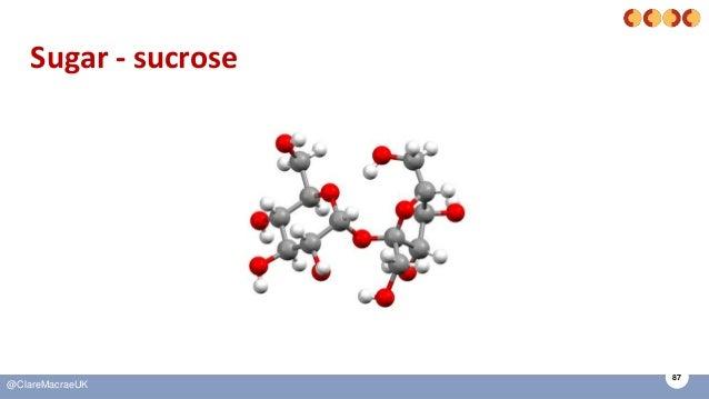 87 @ClareMacraeUK Sugar - sucrose