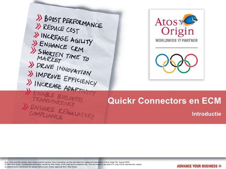 Quickr Connectors en ECM Introductie