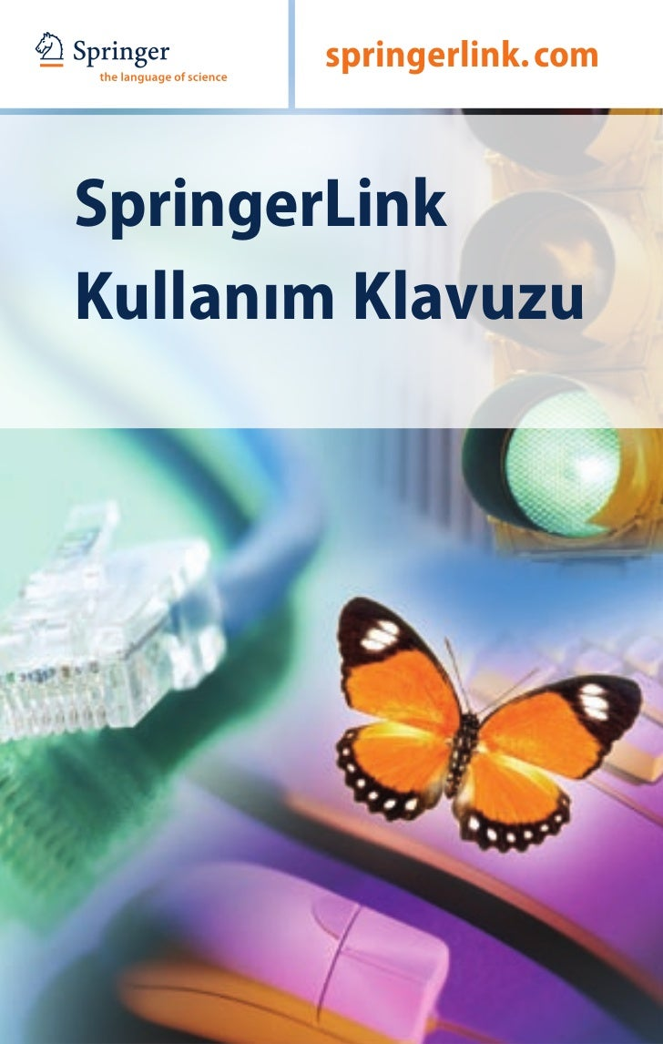 ABCD   springerlink. comSpringerLinkKullanım Klavuzu