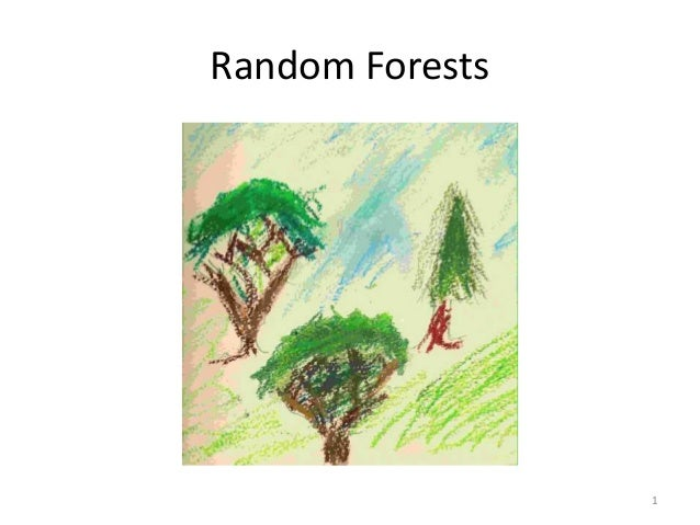 Random Forests  1