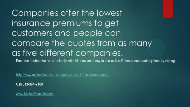Senior Life Insurance Quotes. SlideShare