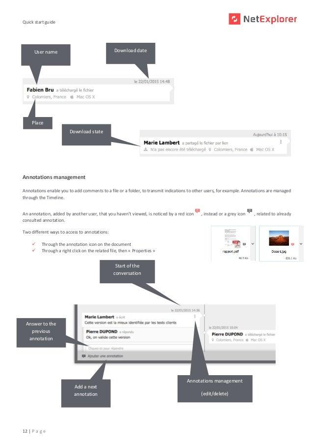 Quick start guide NetExplorer 6.4