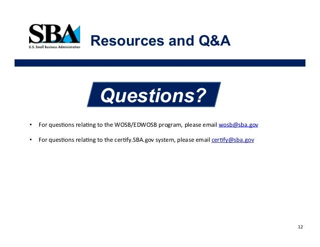 quickstart guide for the women-owned small business program via sba