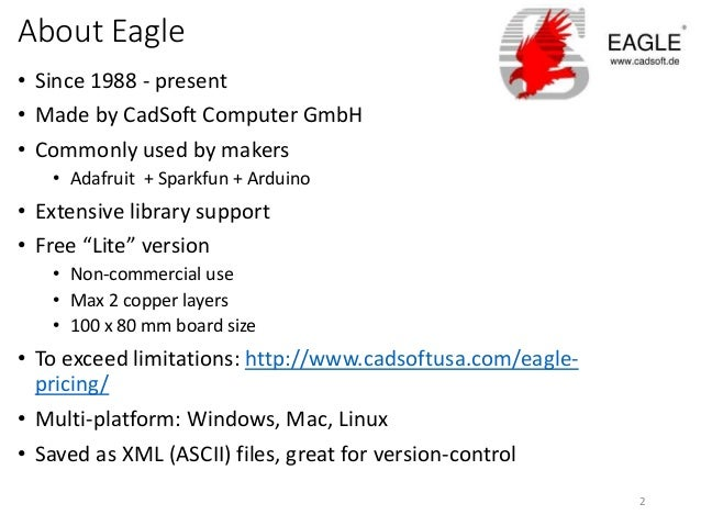 Quick start to Cadsoft Eagle