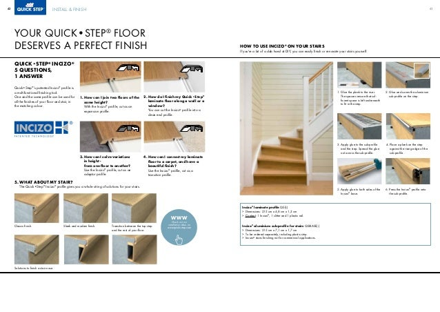quickstep laminate brochure. Black Bedroom Furniture Sets. Home Design Ideas