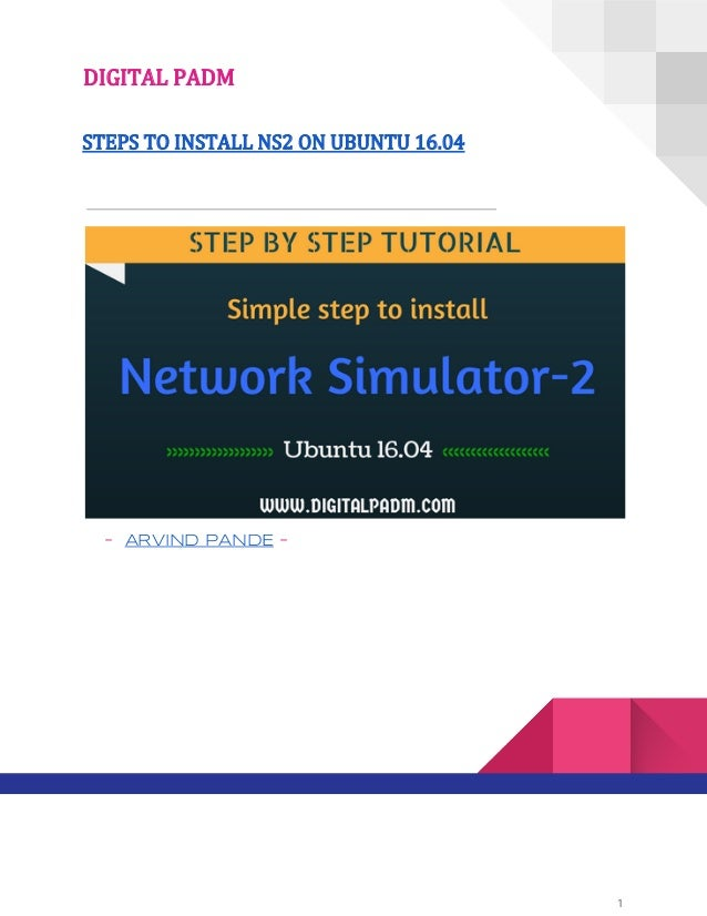 Ns2 tutorial: how to install network simulator 2. 35 (ns2. 35) in.