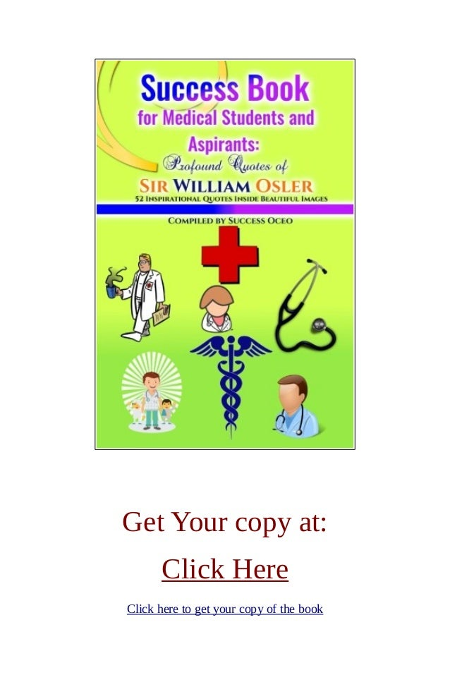 Success Book For Medical Students And Aspirants