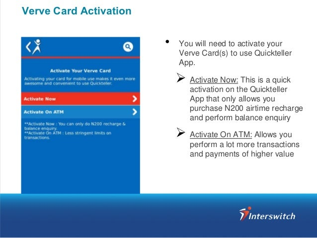 Quickteller App Download & Activation Guide
