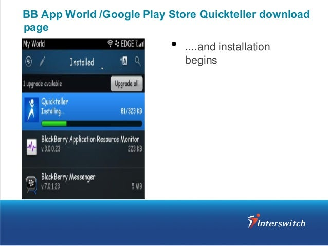 Quickteller App Download & Activation Guide