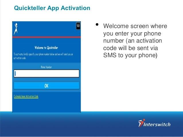 Quickteller App Download & Activation Guide