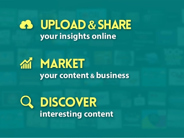 upload & share your insights online  market your content & business  Discover interesting content