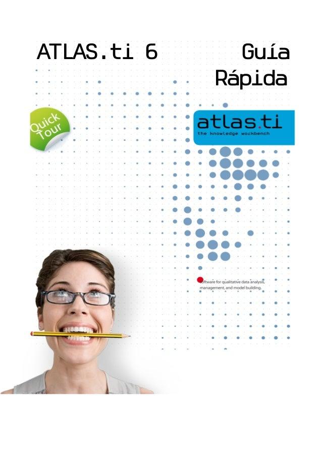 ATLAS.ti 6 GuíaRápida