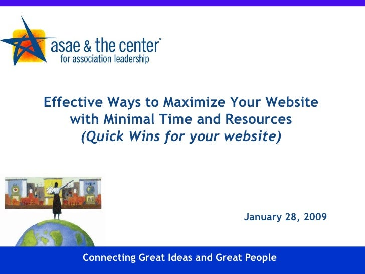Effective Ways to Maximize Your Website     with Minimal Time and Resources       (Quick Wins for your website)           ...