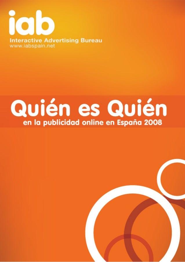 2 Contenido Qué es IAB spain pág. 4 IAB worlwide pág. 7 Mercado publicitario online creciente pág. 10 ¿Por qué inverti...