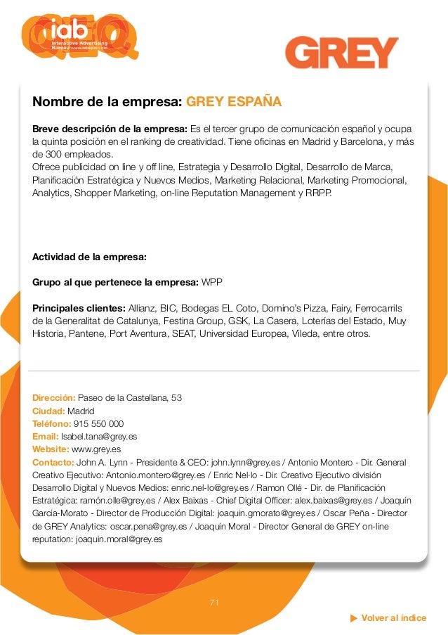 Quien es qui n en la publicidad y la comunicaci n digital for Oficinas de allianz en madrid