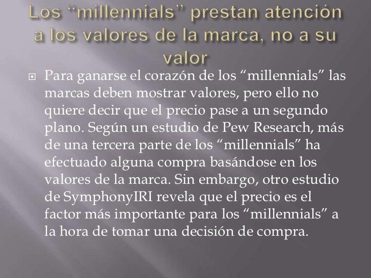 quienes son los millennials pdf