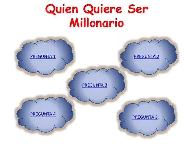 Quien Quiere Ser  Millonario  PREGUNTA 1  PREGUNTA 3  PREGUNTA 5  PREGUNTA 4  PREGUNTA 2
