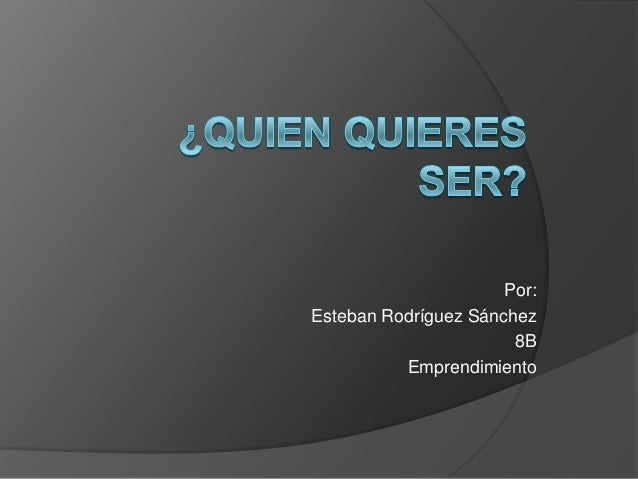 Por: Esteban Rodríguez Sánchez 8B Emprendimiento