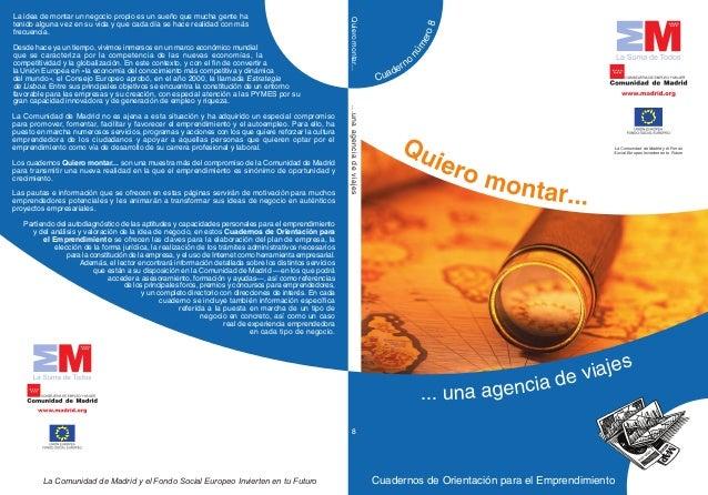 Cuadernos de Orientación para el EmprendimientoLa Comunidad de Madrid y el Fondo Social Europeo Invierten en tu Futuro Cua...