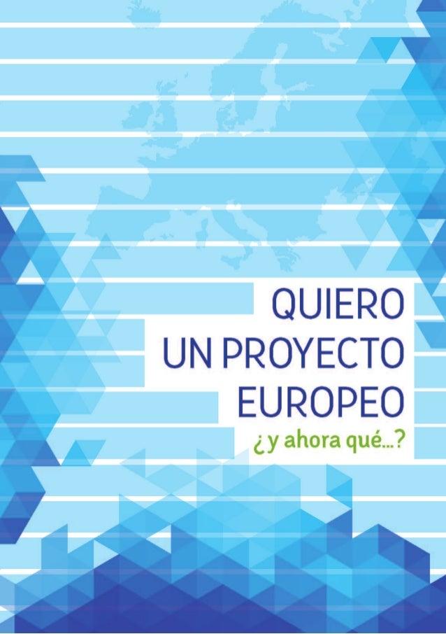 Quiero un proyecto europeo, ¿y ahora qué...? | Horizonte 2020