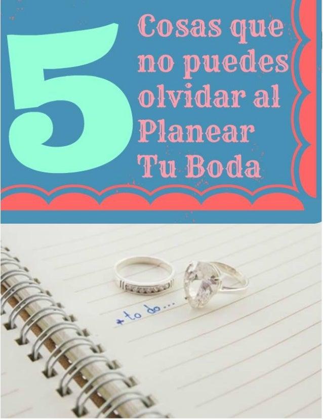 quiero planear mi boda pdf