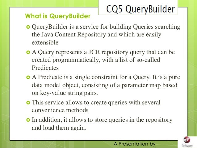 Quiery builder Slide 3