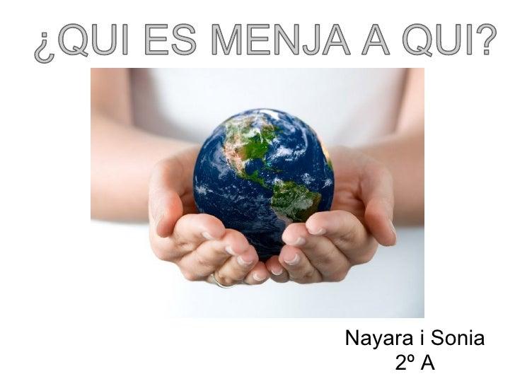 Nayara i Sonia    2º A