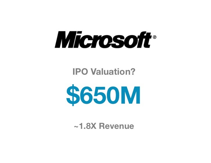 IPO Valuation? $650M~1.8X Revenue