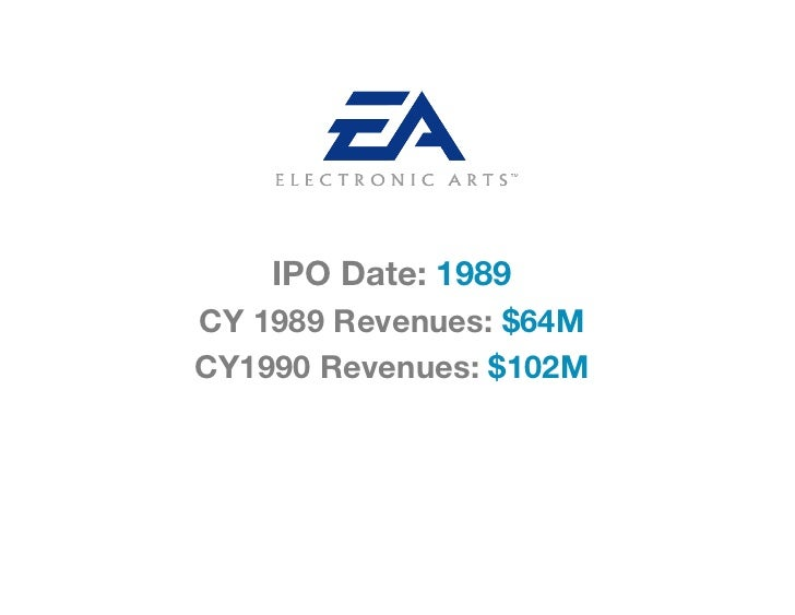 IPO Date: 1989CY 1989 Revenues: $64MCY1990 Revenues: $102M