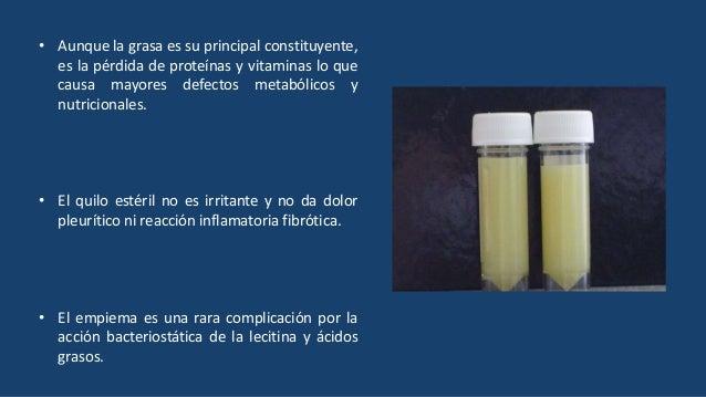 ETIOLOGÍA QUILOTÓRAX TRAUMATICO 40% NO TRAUMATICO 55% IDIOPATICO 5%
