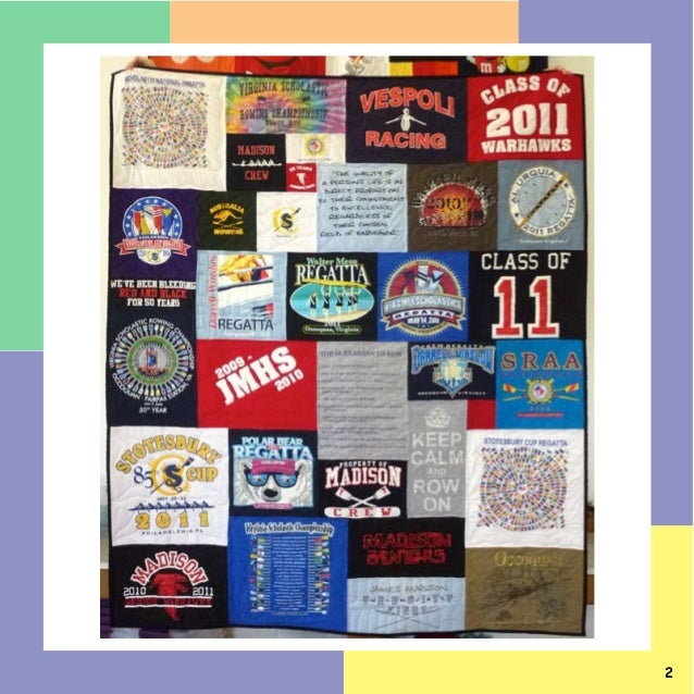 10 Quilts Too Cool T-shirt Quilts Made in june 2013