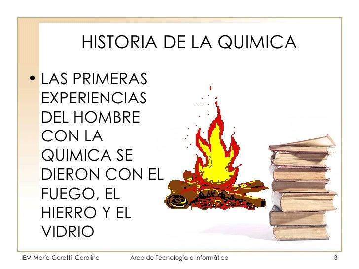 Historia de la qu mica for La quimica en la gastronomia