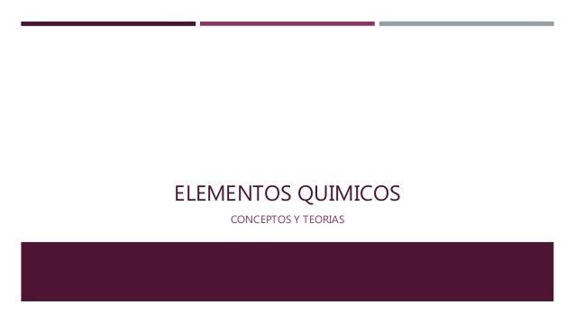 Tabla periodica de los elementos quimicos elementos quimicos conceptos y teorias urtaz Choice Image
