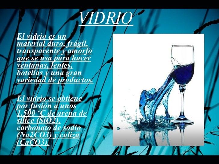 Quimica 1 vidrio - Fabrica de floreros de vidrio ...