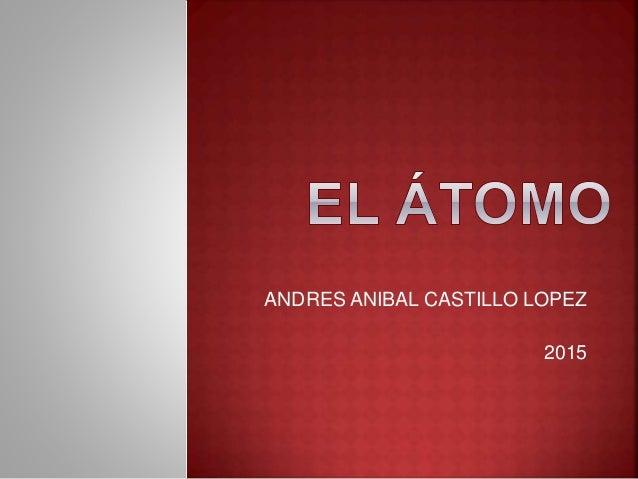 ANDRES ANIBAL CASTILLO LOPEZ 2015