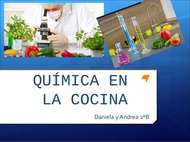 quimica en la cocina