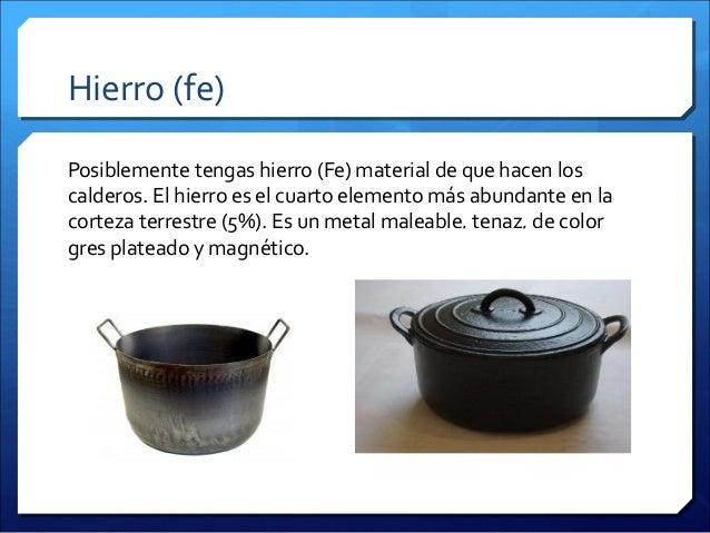 Quimica en la cocina for Elementos cocina