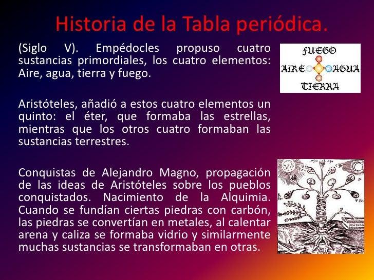 Quimica gral historia de la tabla peridica historia de la tabla peridicabr siglo v urtaz Images