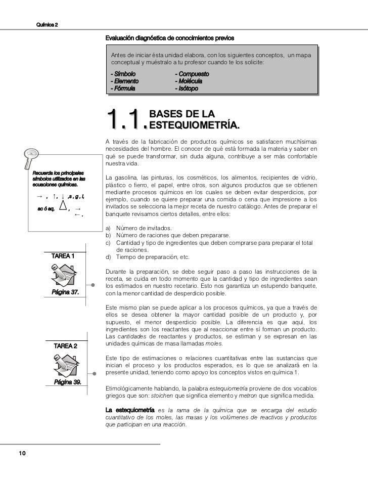 QUÍMICA II DE BACHILLERATO