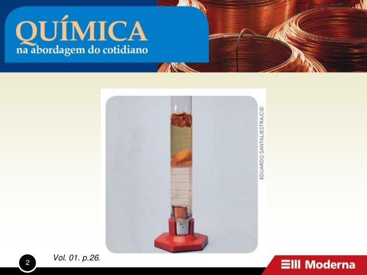 Quimica na abordagem_do_cotidiano_vol1 Slide 2