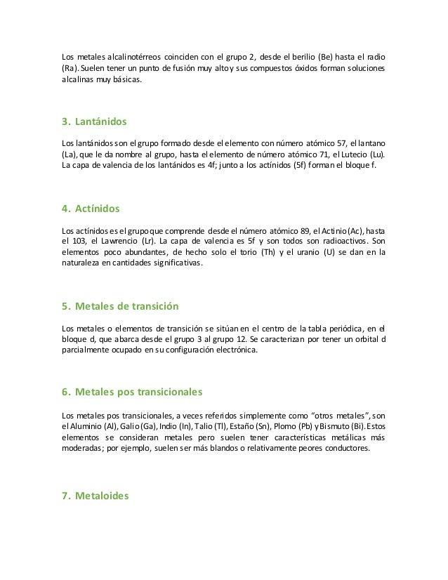 Quimica blog elementos 7a 6a 5a 4a metales alcalinotrreos 18 urtaz Images