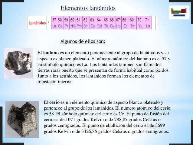 Quimica tabla periodica elementos lantnidos urtaz Images