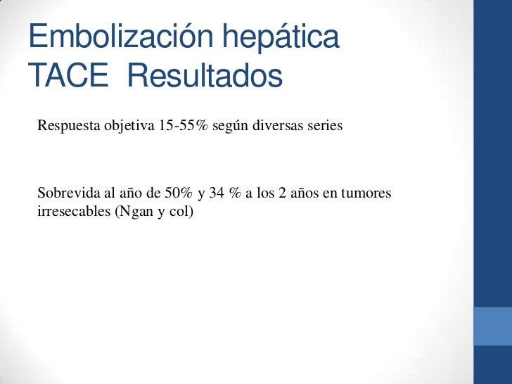 Quimioembolización hepática