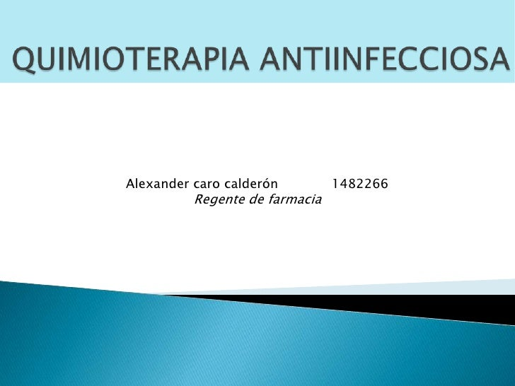 Alexander caro calderón         1482266          Regente de farmacia