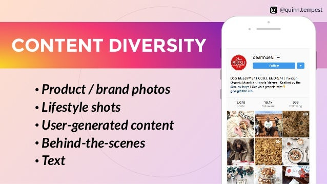 Image result for content diversity instagram