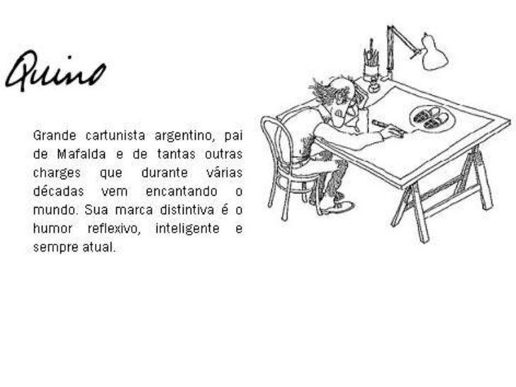 Quino - Cartunista Argentino